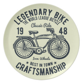 Classic Ride Bicycle Legendary Bike Craftsmanship Plate