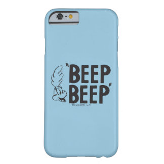 """Classic ROAD RUNNER™ """"BEEP BEEP"""" Barely There iPhone 6 Case"""