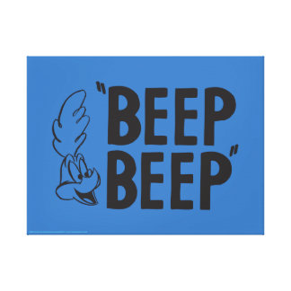 "Classic ROAD RUNNER™ ""BEEP BEEP"" Canvas Print"