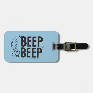 "Classic ROAD RUNNER™ ""BEEP BEEP"" Luggage Tag"