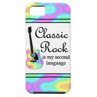 Classic Rock Is My Second Language iPhone 5 Covers