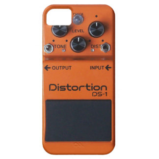 Classic Rock Orange Distortion Pedal Case For The iPhone 5