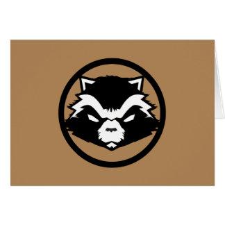 Classic Rocket Raccoon Icon Card
