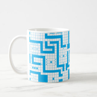 Classic RPG Map Coffee Mug