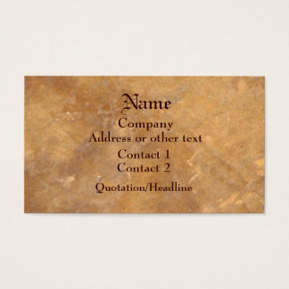 Classic Rustic Stone Look Business Card