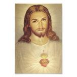 Classic Sacred Heart of Jesus Photo Print