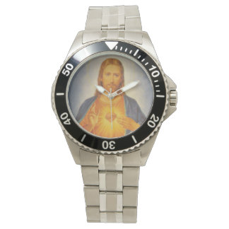 Classic Sacred Heart of Jesus Watch