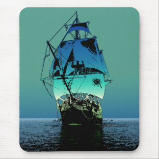 Classic Sailing Ship Mouse Pad
