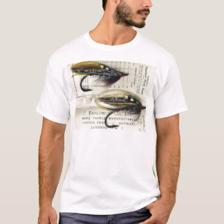 Classic Salmon Fly on card T-Shirt