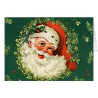 Classic Santa Card
