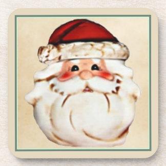 Classic Santa Claus Face Coaster