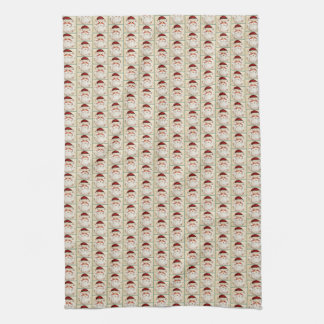 Classic Santa Claus Face Tea Towel