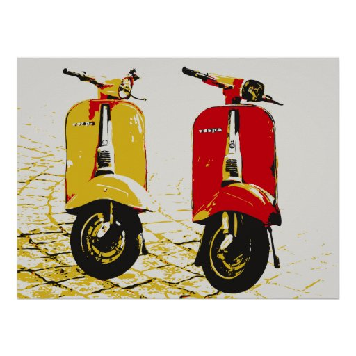 Classic Scooter Posters