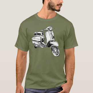 Classic Scooter T Shirt