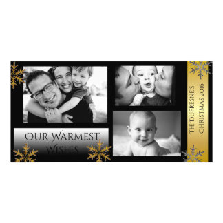 Classic Silver & Gold Picture Card