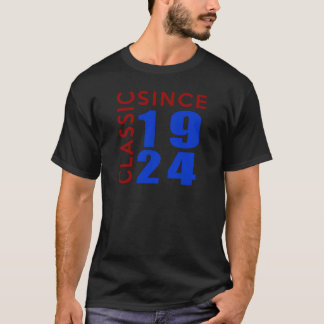 Classic Since 1924 Birthday Designs T-Shirt