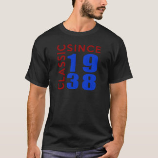 Classic Since 1938 Birthday Designs T-Shirt