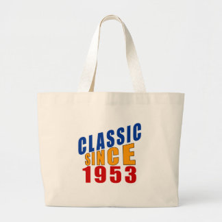 Classic Since 1953 Large Tote Bag