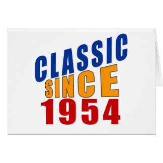 Classic Since 1954 Card