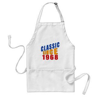Classic Since 1968 Standard Apron