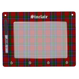 Classic Sinclair Plaid Custom Dry Erase Board