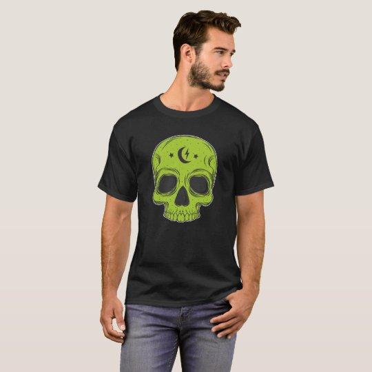 Classic Skull (green) T-Shirt