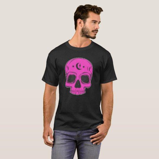 Classic Skull (pink) T-Shirt