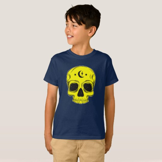 Classic Skull (yellow) T-Shirt