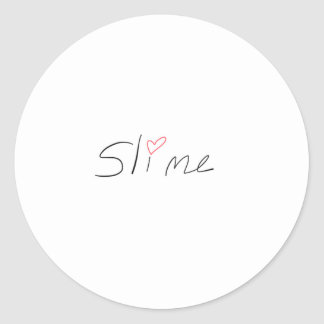 Classic Slime Sticker, Glossy, Small, 1½ inch Classic Round Sticker