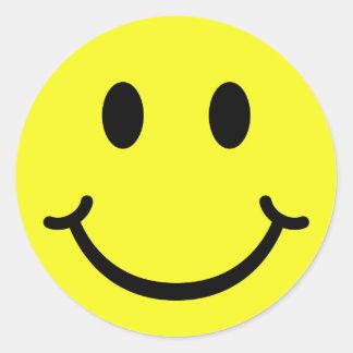 Classic Smiley Classic Round Sticker