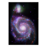 Classic Spiral Galaxy Poster