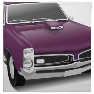 Classic Sports Car Napkin