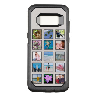 Classic Square Frame Photo Collage OtterBox Commuter Samsung Galaxy S8 Case