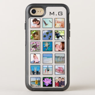 Classic Square Frame Photo Collage OtterBox Symmetry iPhone 8/7 Case