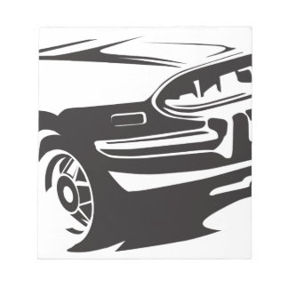 Classic Stag detail Notepad
