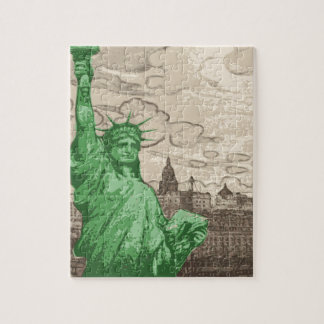 Classic Statue of Liberty Jigsaw Puzzle