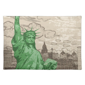 Classic Statue of Liberty Placemat