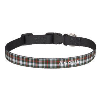 Classic Stewart Dress Plaid Custom Dog Collar