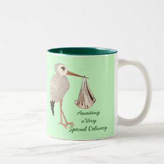 Classic Stork (Neutral) 1 (Baby Shower) Coffee Mug