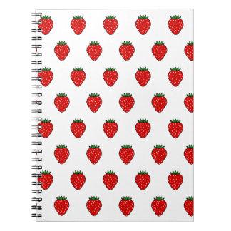 Classic Strawberry Notebook