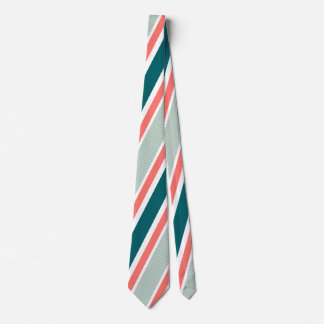 Classic Striped Tie in blue and red colors