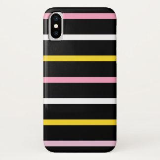 Classic Stripes iPhone X Case
