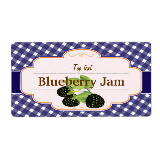 Classic Style Jam Jelly Mulberry Label