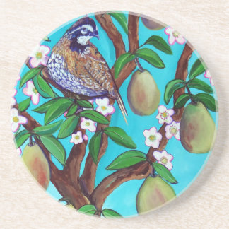 Classic Style Sandstone Drink Coaster
