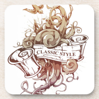 Classic-Style Set Drink Coaster