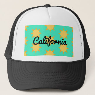 Classic Sunny California Trucker Hat