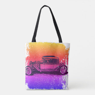 Classic Sunset Rod Tote Bag