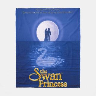 Classic Swan Princess Fleece Blanket