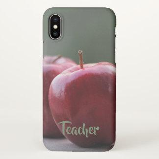 Classic Teacher iPhone X Case
