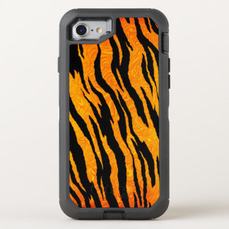 Classic Tiger Skin OtterBox Defender iPhone 8/7 Case